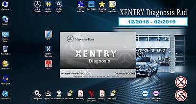 12/2017 XENTRY LATEST = UPDATE HARD DRIVE for SD C4 STAR WIS EPC DAS VEDIAMO MB