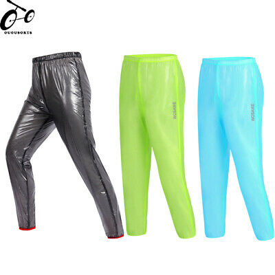 Outdoor Sports Rain Pants Cycling Tights Waterproof Riding Windproof Trousers