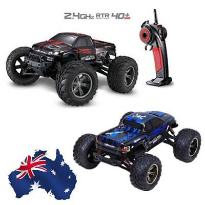 AU !! 4WD Off-Road 1:12 2.4G Remote Control Monster Truck High Speed RTR RC Car