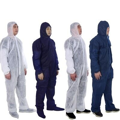 Disposable DIY Suit Protective Clothing Overall Coverall Work Clothes L-3XL SH