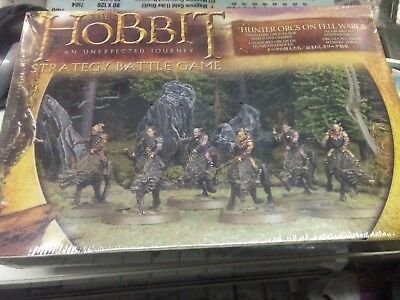 Hunter Orcs on Fell Wargs Hobbit Lord of the Rings Strategy Game Sealed New
