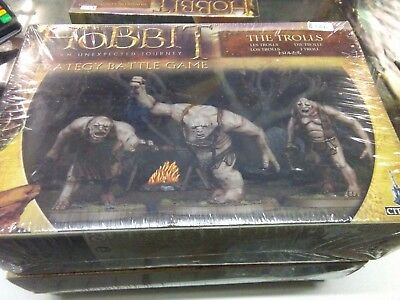 The Trolls Hobbit Lord of the Rings Strategy Battle Game Sealed New