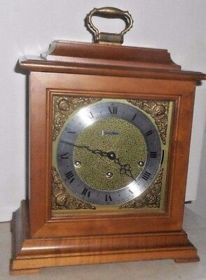 Seth Thomas U.s.a. Westminster Chime 8 Day Bracket Clock Working Model 1309