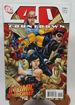 DC Comics Countdown 40 Comic Book Atomic Warfare July 2007