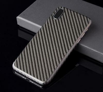 premium selection 2afa8 9b027 REAL CARBON FIBER Case Cover Ultra Thin Carbon Fibre Cover For iPhone X