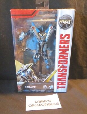 Strafe Premier Edition Transformers The Last Knight Hasbro Deluxe class