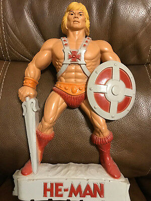 Vintage He Man Masters of the Universe MOTU Wall Plaque Plastic