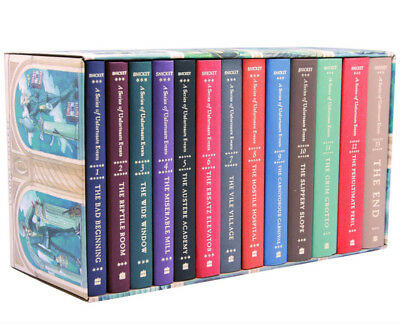 A Series of Unfortunate Events Box: The Complete Wreck Books 1-13 Lemony Snicket