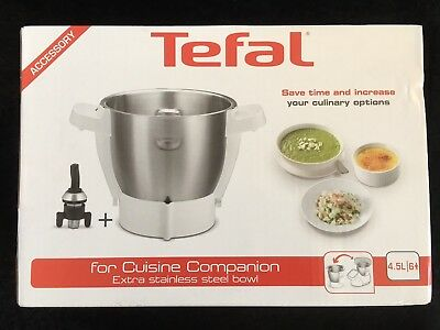 Tefal Cuisine Companion Stainless Steel Bowl. New In Box.