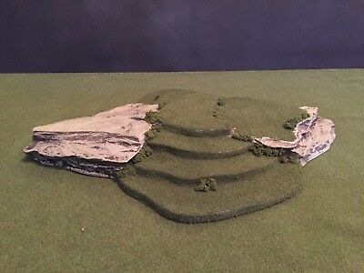 Warhammer, LOTR,Grunts, Earth, Sci-fi, 40K, Model Terrain & scenery Hill Cliff 1