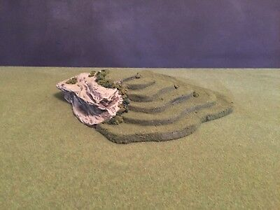 Warhammer, LOTR, Grunts, Earth, Sci-fi, Model Terrain & Scenery Hill Cliff 3