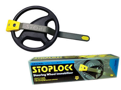 Stoplock Professional Pro Steering Wheel Lock Anti-Theft Thatcham Cat 3 Approved