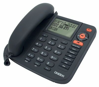 Uniden Fp1355 Deluxe Corded Phone With Integrated Digital Answering Machine