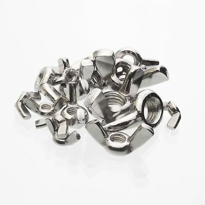 Wing Nut, Butterfly Stainless Steel Din315Af M4, M5, M6, M8, M10, M12