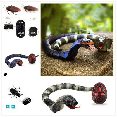 Remote Control Realistic Fake RC Prank Insects Joke Scary Trick Toys Charm HY
