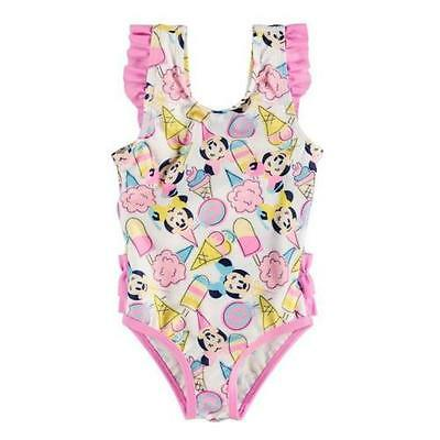 Minnie Mouse Ice Cream  Disney Swimwear Bathers  Authentic Baby Sizes Brand New