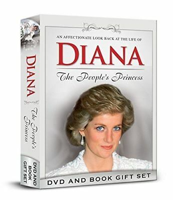 Affectionate Look Back At Diana New Dvd & Book Gift Set The People's Princess