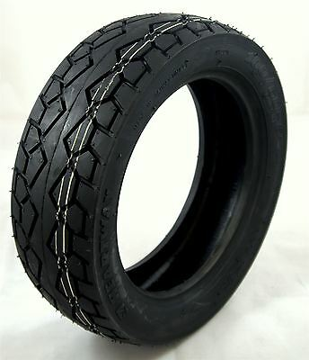 100/60-8 Black Mobility Scooter Tyre fits TGA Vita Front Wheels