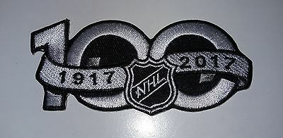 NHL Patch Aufnäher Logo Patch 100 Years Anniversary Patch 2017