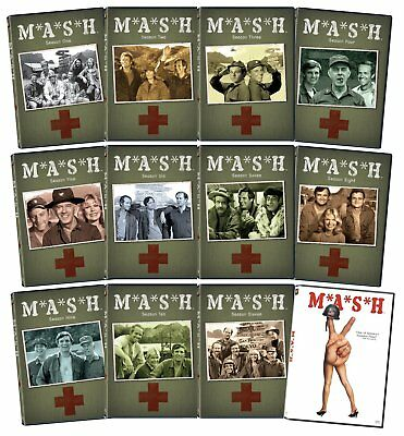 M*A*S*H: The Complete Series + Movie DVD 34 Discs Season 1 2 3 4 5 6 7 8 9 10 11