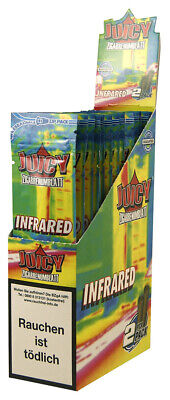 1 Box (25x2) Juicy Jay's Double Blunts INFRARED aromatisiert flavoured