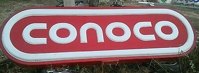 A+ Conoco Lighted lightup Sign Gas & Oil service station shipping avaliable