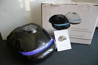 LuxorWare Shiatsu Kneading G2 Foot Massager with Heat and Air Massage Selection
