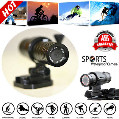 HD 1080P Mini DV Action Sport Camera Bike Motorcycle Waterproof DVR Video Camera