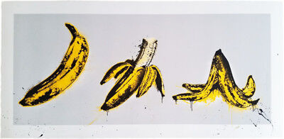Mr. Brainwash, Banana, sign. + num.