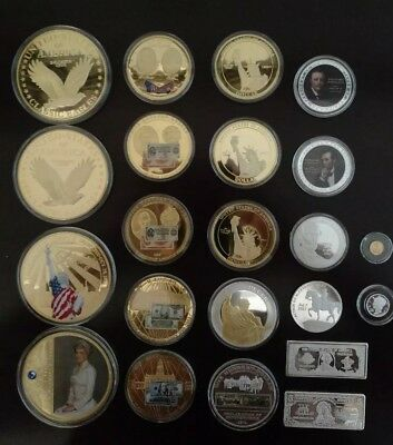 American Mint Commemorative Coins - lot of 22