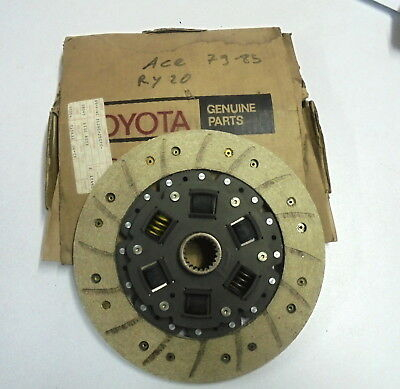 Disque d'embrayage neuf Toyota Ace Toyotace Clutch disc Kupplungsscheibe