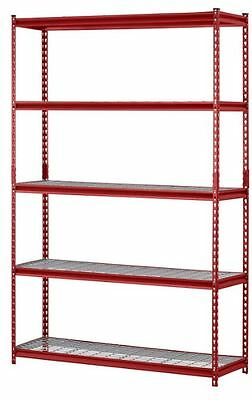 Wire Industrial Storage Racks And Shelving For Closets Durable Utility Organizer