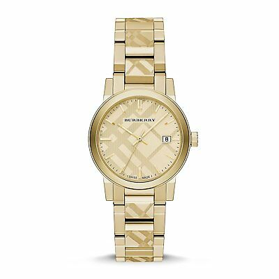 Burberry BU9145 The City Women's Watch Gold 34mm Stainless Steel