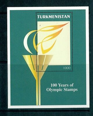 Turkmenistan 1997 Michel-Nr. Block 7 Olympic Games Postfrisch ** MNH