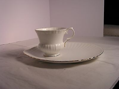 Crown Staffordshire  12 Snack Plate and Cup Sets excellent condition
