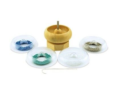 Bead Spinner Quick Change Trays - Bead Loader - String Beads Fast & Easy