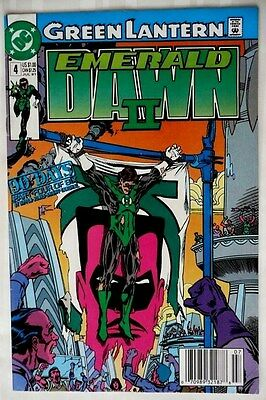 DC Comics - GREEN LANTERN #4  Emerald Dawn II -  July, 1991  - Ungraded