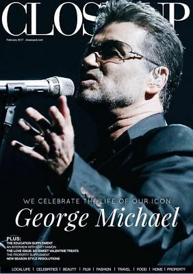 George Michael+Megarare+Close Up+Magazine+Uk 2017+25Live+Faith+Symphonica+Wham!