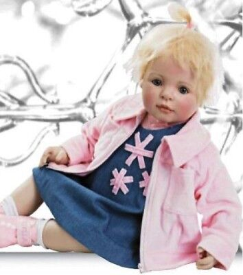 """Gotz """"Stella"""" Collectible Baby Doll Limited Edition #636/1000 By Bettine Klemm"""