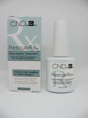 CND Creative Nail Design RescueRXx Daily Keratin Treatment 0.5oz / 15ml