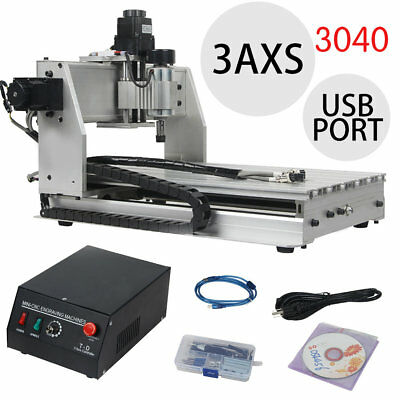 3AXIS USB CNC Router Engraver Engraving/Drilling/Milling Machine 3040 3D Cutter
