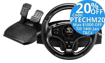 Thrustmaster T80 Steering Wheel & Pedals for PS3/PS4 PlayStation Gaming Control