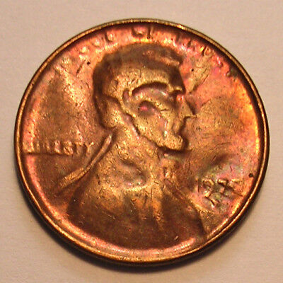 1970-D? Cent Struck By A Capped Die Mid-Late Stage Unc Dk Rb- See Other Auctions