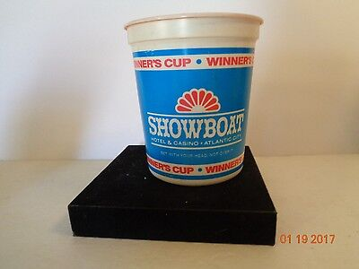 CLOSED Showboat Hotel Casino Atlantic City NJ Coin Cup + BONUS