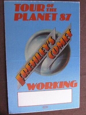 Frehley's Comet Unpeeled Tour Backstage Pass!!! RARE!!!