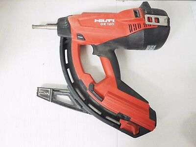 Hilti GX 120 Nail Gas-Actuated Fastening Tool w Case nailer