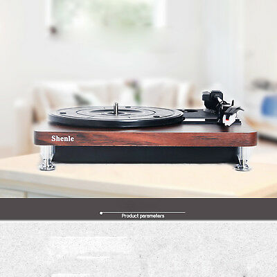 Retro Vinyl Record Player Stereo Turntable