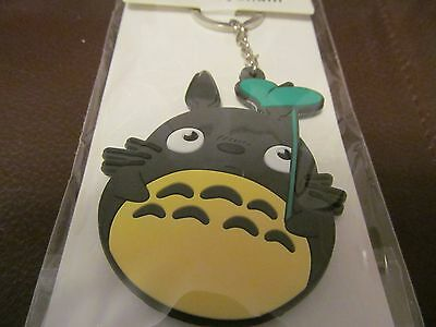 Totoro (Leaf) Silica Double Sided Keychain  (NEW)