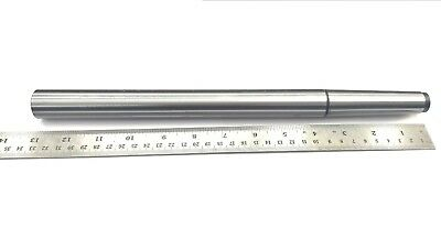 """Tool Steel 13-3/16"""" (335 mm) Test Bar 3MT for Lathe Alignment-Hardened & Ground"""