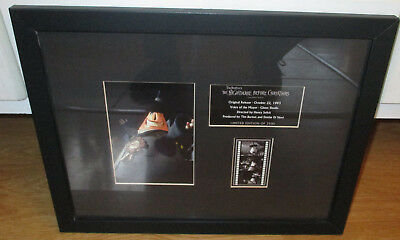 Tim Burton The Nightmare Before Christmas LE Signed Framed Glenn Shadix Mayor